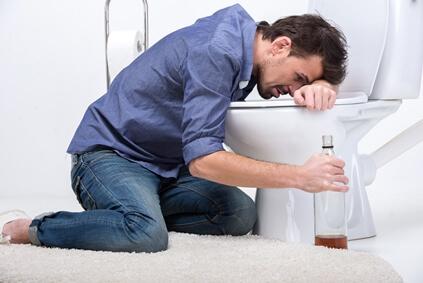 как избавиться от алкогольного отравления